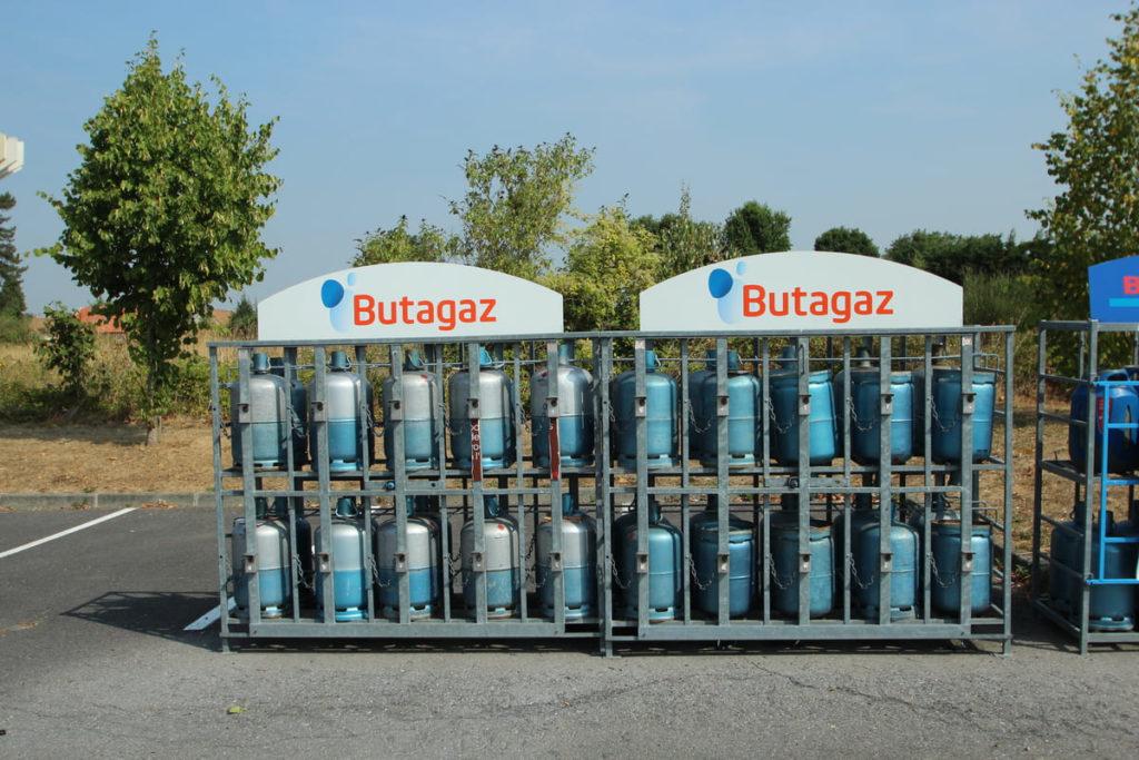 Bouteilles de gaz butane et propane Butagaz