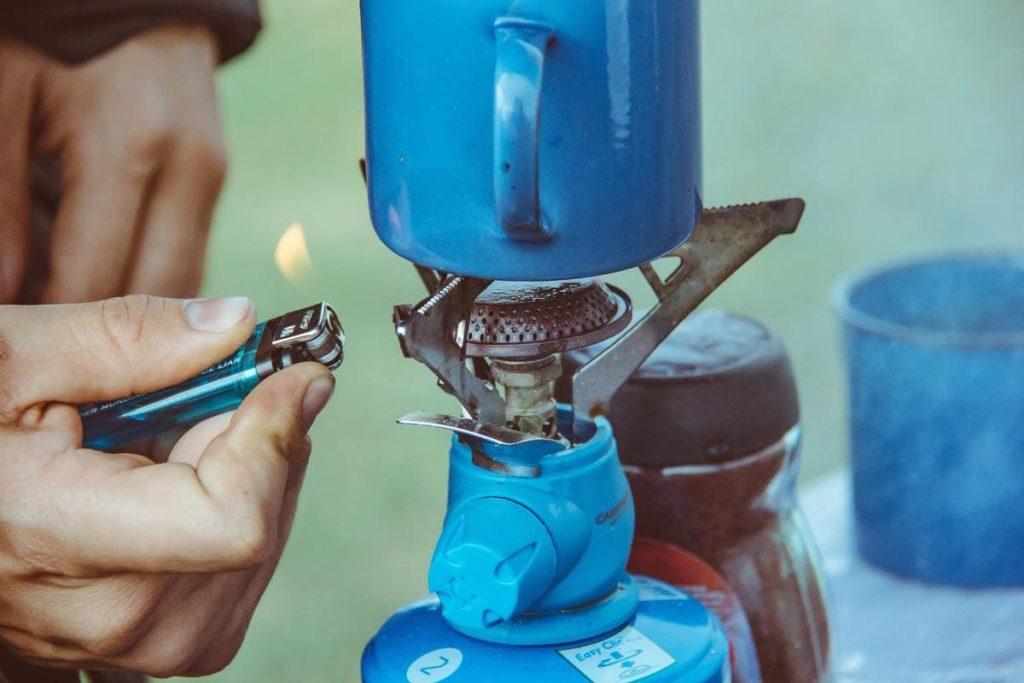 Bouteille de gaz consignation